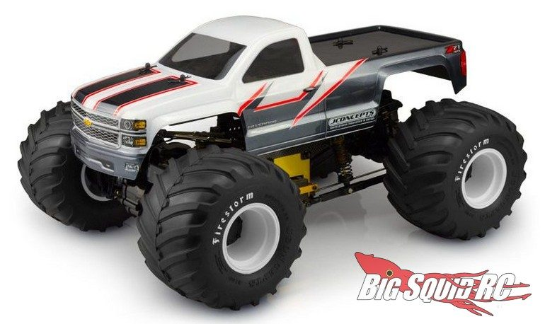 JConcepts 2014 Chevy 1500 MT Body