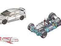 Kyosho Mini-z Civic Type R MRO3 EVO chassis