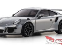 Kyosho Porsche 911 GT3 RS Silbermetallic