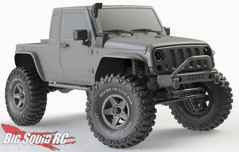MST JP1 Scale Crawler Body