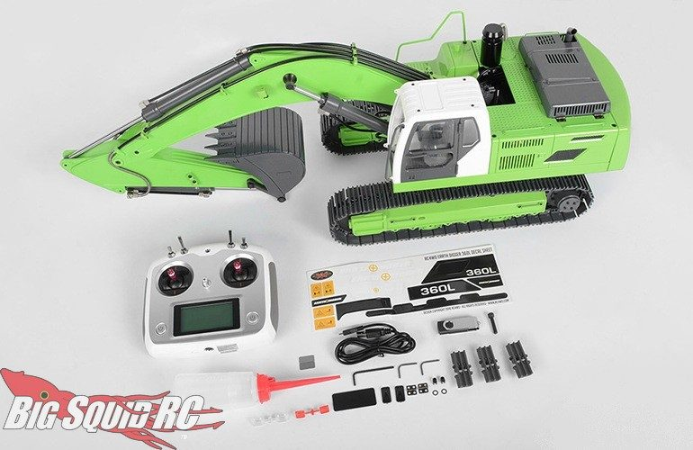 RC4WD 14th Scale Earth Digger 360L Hydraulic Excavator Green
