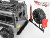 RC4WD Rear Swing Away Tire Carrier Bumper Traxxas TRX-4