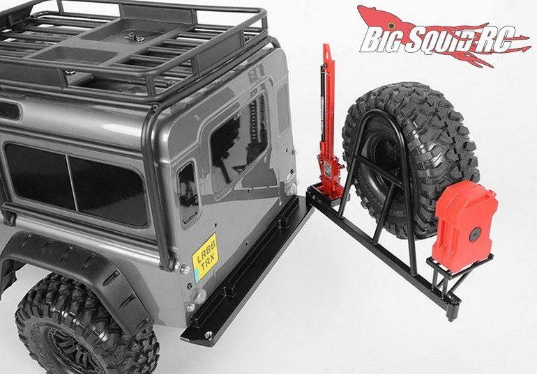RC4WD Rear Swing Away Tire Carrier Bumper Traxxas TRX-4