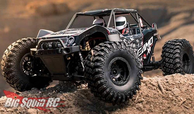 Redcat Racing Camo X4 Rock Racer