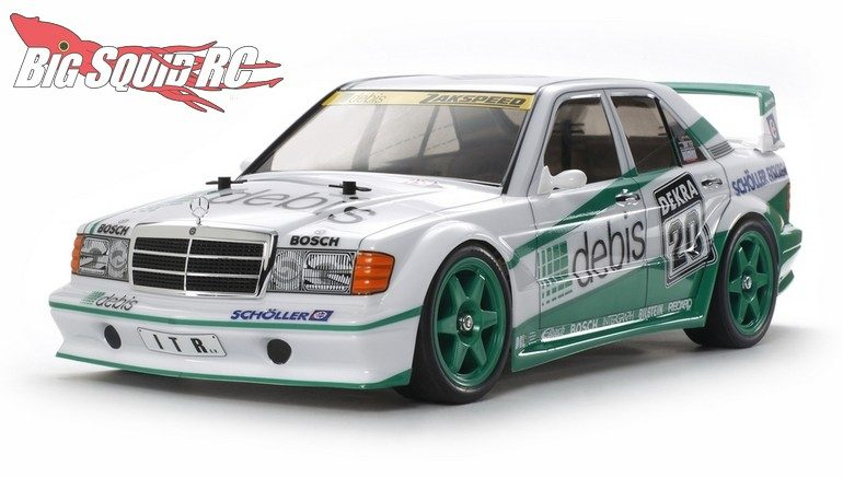 "Tamiya Mercedes-Benz 190E ""Debis"" Evo.Ii Team Zakspeed"