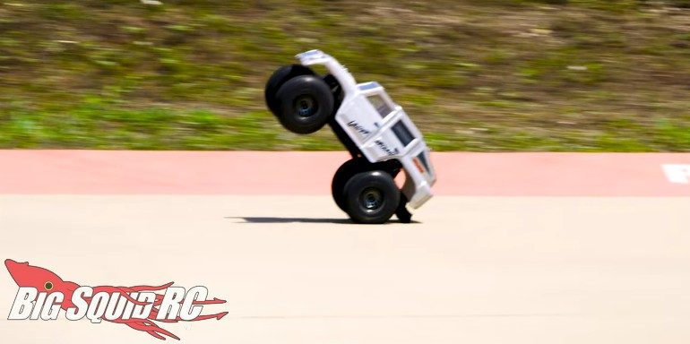 Traxxas TRX-4 50 mph backflip video