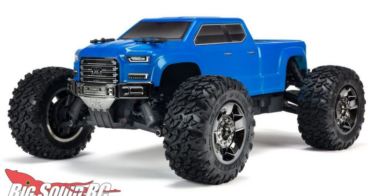 ARRMA 10th Scale Big Rock Crew Cab 4x4 3S BLX Brushless RTR