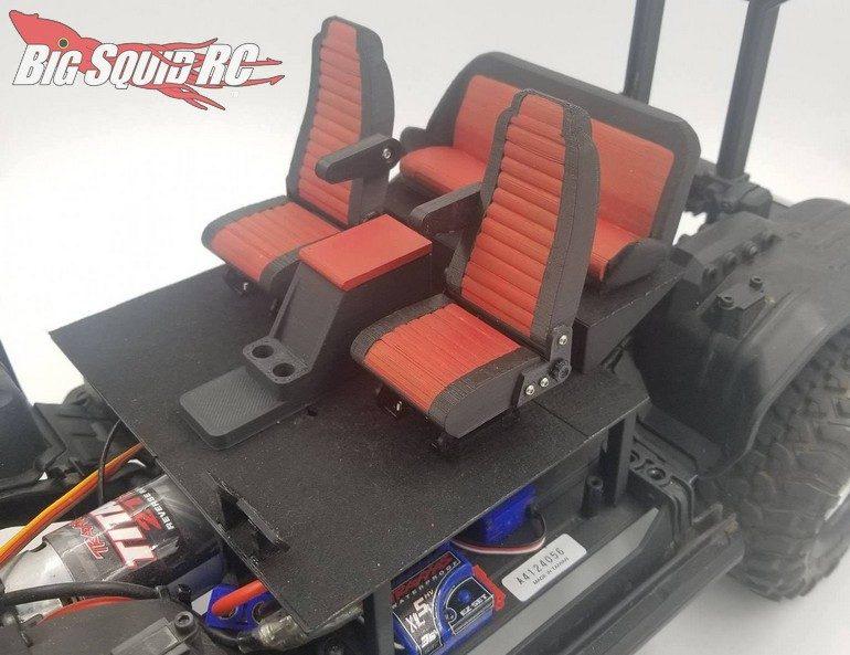 Exclusive RC Traxxas TRX-4 Bronco Scale Interior