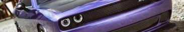 Kyosho Plum Crazy Dodge Challenger Hellcat