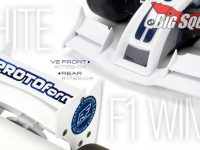 PROTOform White F1 Formula 1 Wings