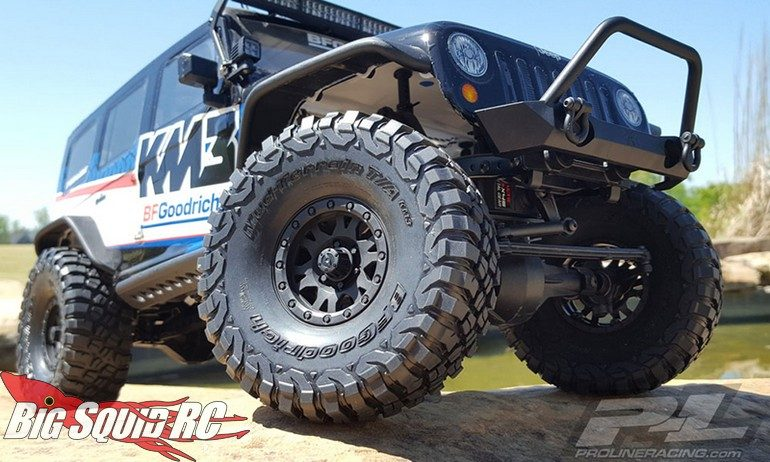 Pro-Line BFGoodrich Mud-Terrain TA KM3 Red Label 1.9 Predator Super Soft Tires
