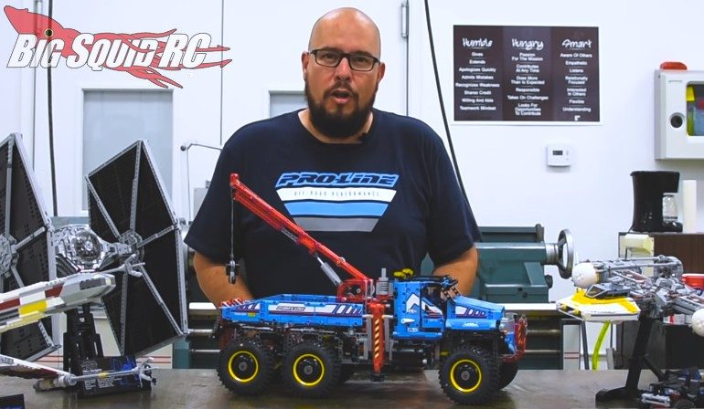 Video Lego Technic With Pro Line Tires Big Squid Rc Rc Car And