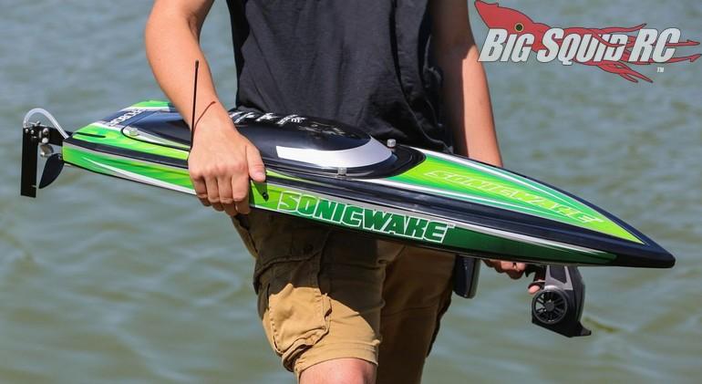 Pro Boat Sonicwake 36 Brushless Deep V Rtr 171 Big Squid Rc