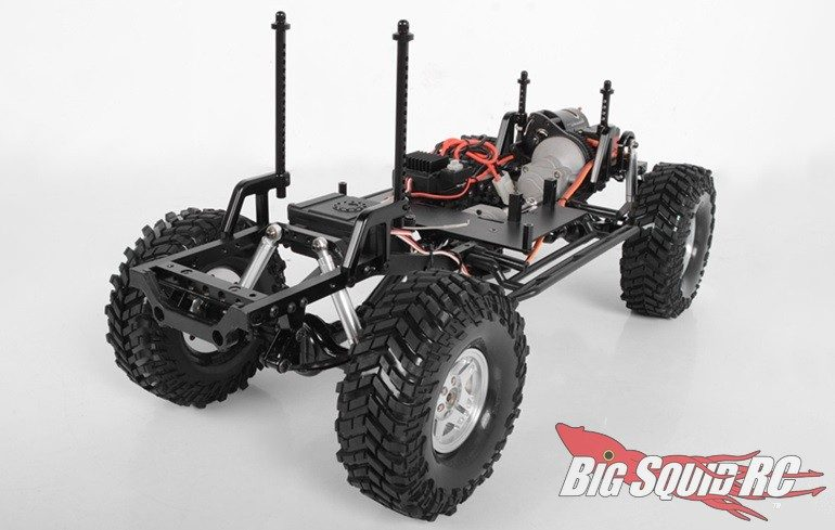 RC4WD Lexan Body Mounting System TF2 LWB