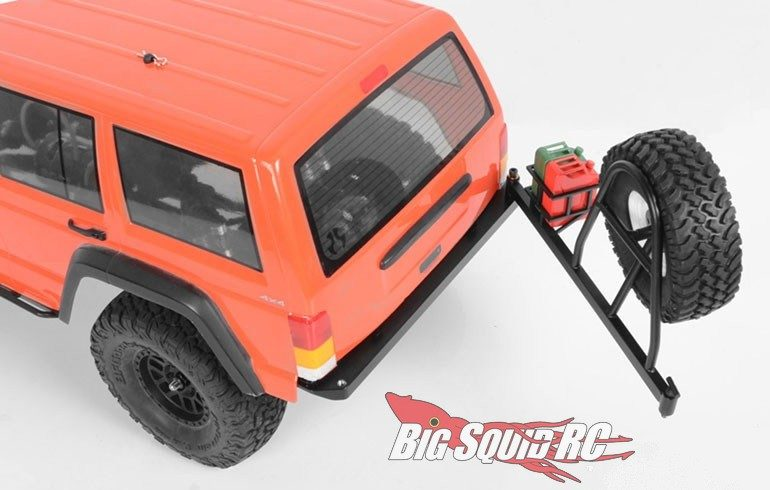 RC4WD Tough Armor Swing Away Tire Carrier Fuel Holder SCX10 II