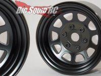 SSD 1.9 Black Steel Stock Wheels