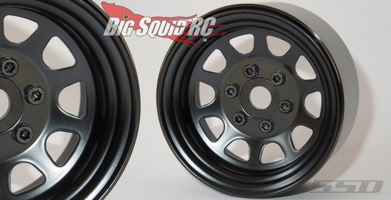 SSD 1.9 Black Steel Stock Wheels