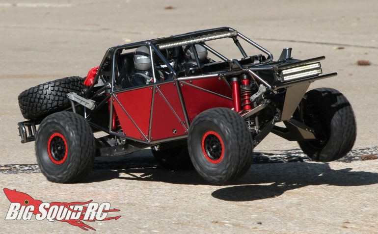 Satin Black Traxxas UDR Build