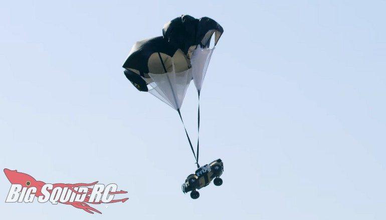 Traxxas Parachute Roof Jump
