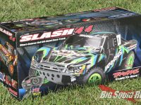 Traxxas Slash 4x4 Brushed XL-5 RTR Unboxing