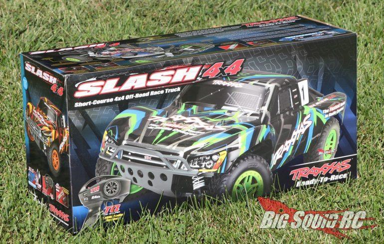 Traxxas Slash 4x4 Brushed XL-5 RTR Unboxing
