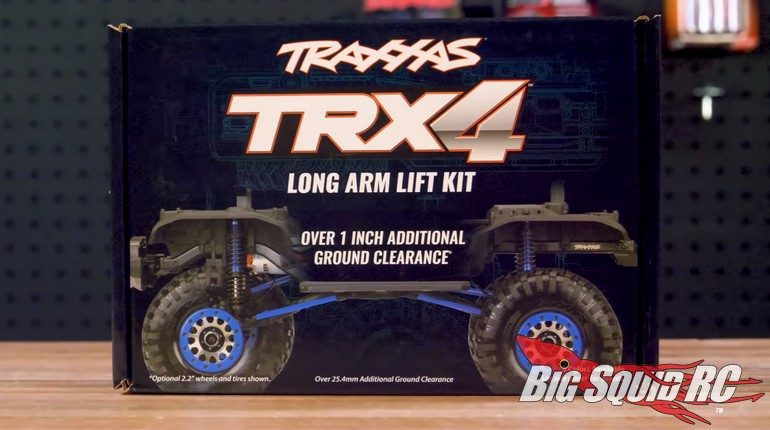 Traxxas TRX-4 Lift Kit Video