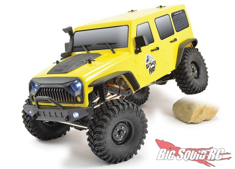 FTX RC Outback Fury Scale Crawler