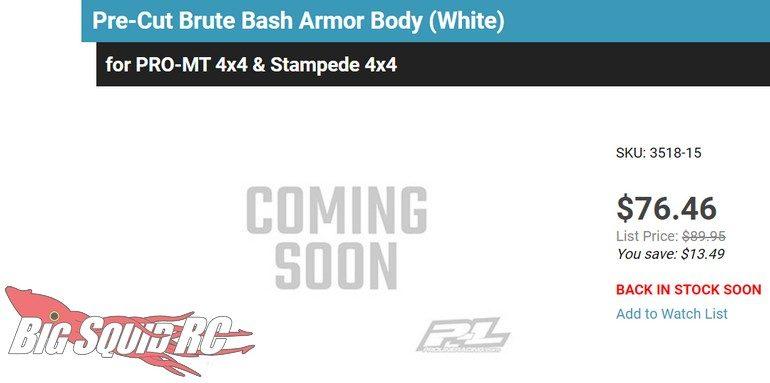 Pro-Line Bash Armor Teaser