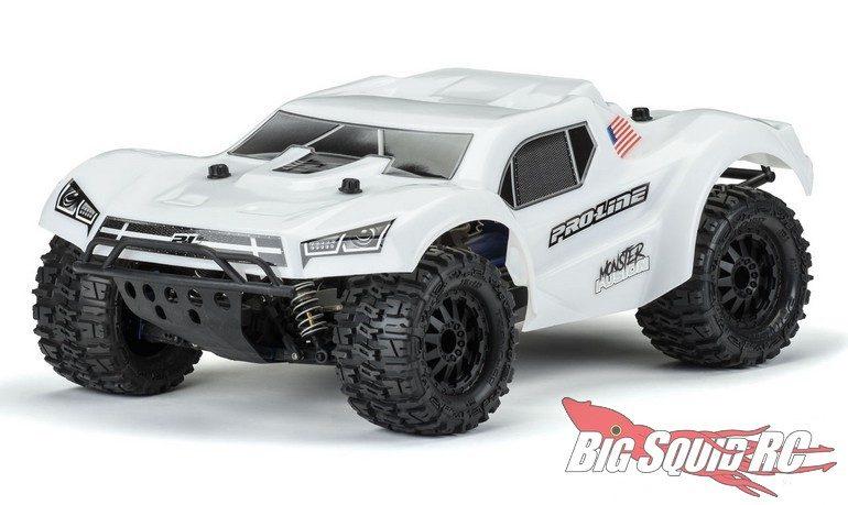 Pro-Line Pre-Cut Monster Fusion Bash Armor SCT Body