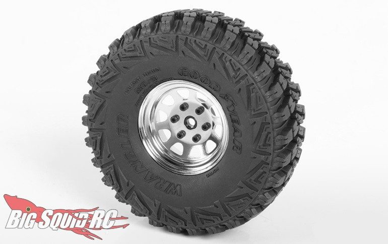 RC4WD Chrome Stamped Steel 1.7 Beadlock Wagon Wheels