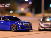 Traxxas Midnight Cruise Cadillac CTS-V Body 4-Tec 2.0