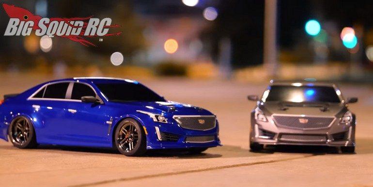 Traxxas Midnight Cruise Cadillac CTS-V Body 4-Tec 2.0