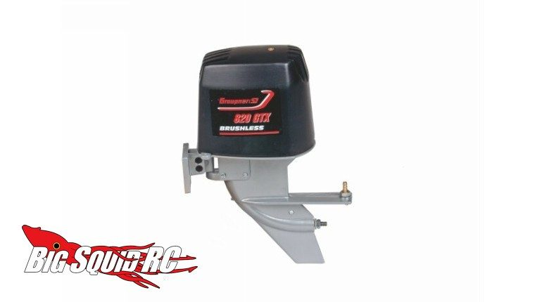 Graupner Scale Outboard RC Boat Motor