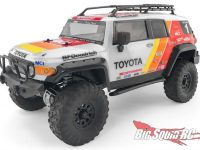 HPI Racing Clear Toyota FJ Cruiser Body