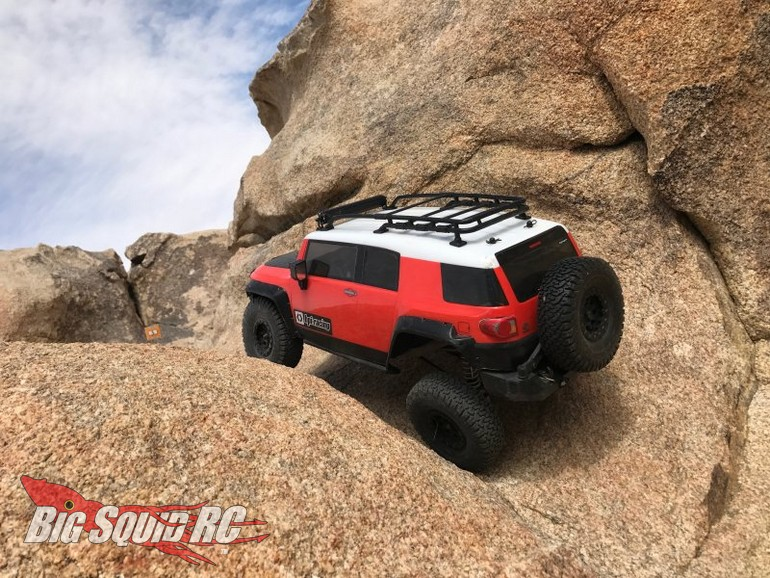 Customize Your Own Car >> Clear Toyota FJ Cruiser Body From HPI Racing « Big Squid ...