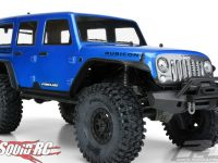 Pro-Line Pre-Painted Blue Jeep Wrangler Unlimited Rubicon Body