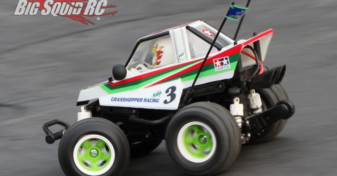 Tamiya Comical Grasshopper Review