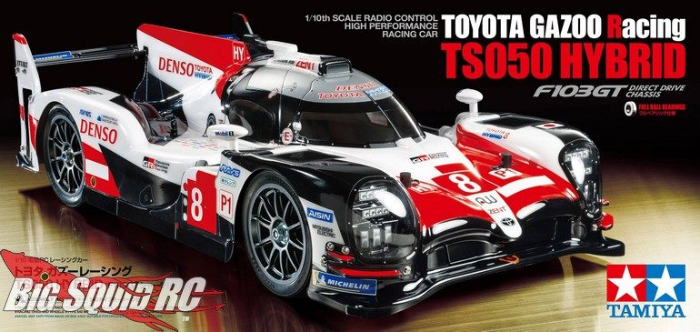 Tamiya Toyota Gazoo Racing TS050 Hybrid F103GT