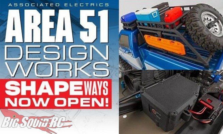 Team Associated Shapeways 3D Printed Parts