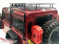 TheToyz TRX-4 Defender Metal Cage Roof Rack