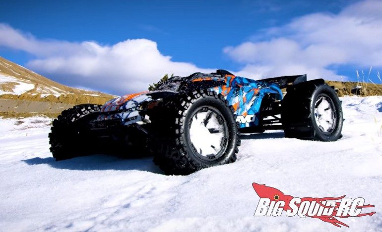 Traxxas E-Revo Winter Wonderland Video
