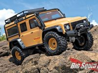 Traxxas TRX-4 Land Rover Sandglow Limited Edition