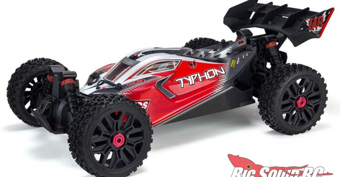 ARRMA Typhon 3S BLX Buggy