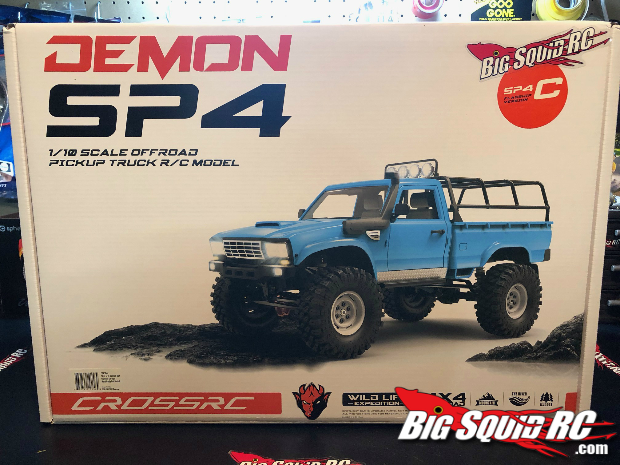 UNBOXING CROSS RC DEMON SP4 KIT « Big Squid RC – RC Car and