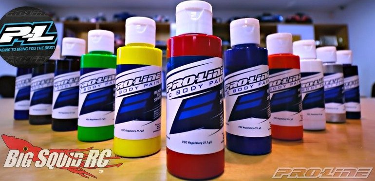Pro-Line Airbrush RC Car Paint Video