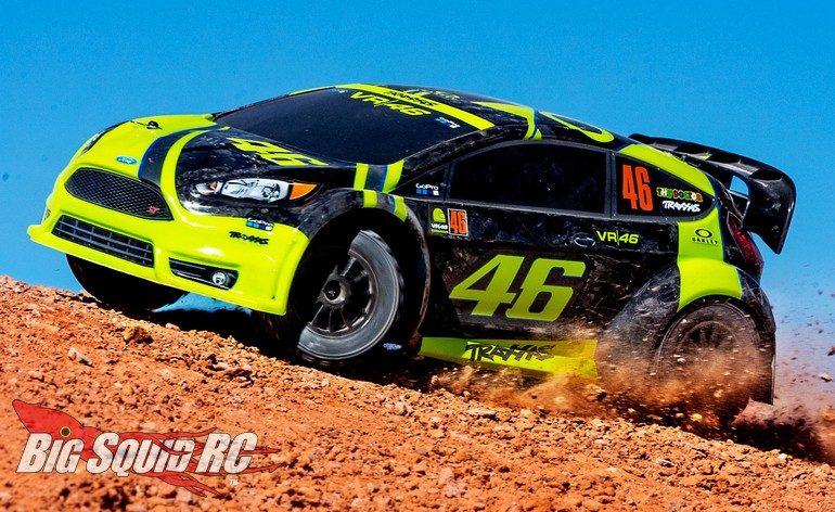 Traxxas Valentino Rossi VR6 Rally Car