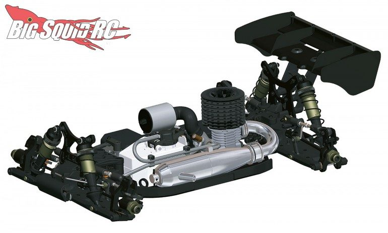 HB Racing D819 Nitro Buggy RC