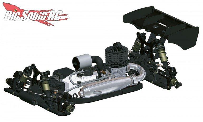 HB Racing D819 Nitro Buggy RC
