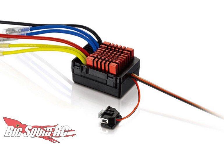 Hobbywing WP-880 Dual Waterproof ESC Speed Controller