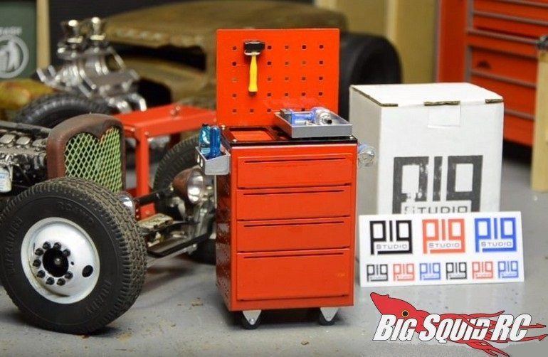 Pig Studio F69 Scale Garage Toolbox